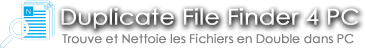 Bannière du site Duplicate File Finder 4 PC